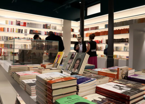Ona Llibres bookstore on Pau Claris in Barcelona (by Mar Vila)